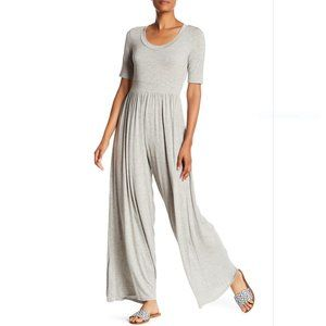 WEST KEI Elbow Sleeve Wide Leg Jumpsuit size SMALL